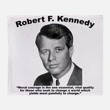 RFK: Courage Throw Blanket