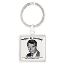 RFK: Courage Square Keychain