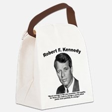 RFK: Courage Canvas Lunch Bag