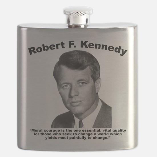RFK: Courage Flask