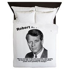 RFK: Courage Queen Duvet