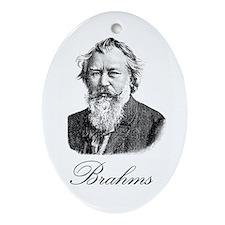 Brahms Oval Ornament