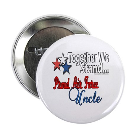 "Proud Air Force Uncle 2.25"" Button (100 pack)"