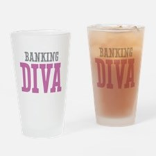 Banking DIVA Drinking Glass