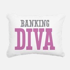 Banking DIVA Rectangular Canvas Pillow
