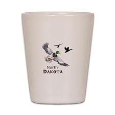 MALLARDS NORTH DAKOTA Shot Glass