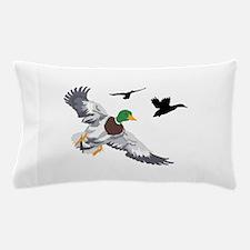 SMALL MALLARDS IN FLIGHT Pillow Case