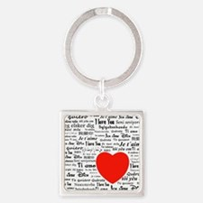 I love you in all languages Keychains