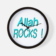 Allah Rocks ! Wall Clock