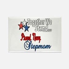 Proud Navy Stepmom Rectangle Magnet (100 pack)