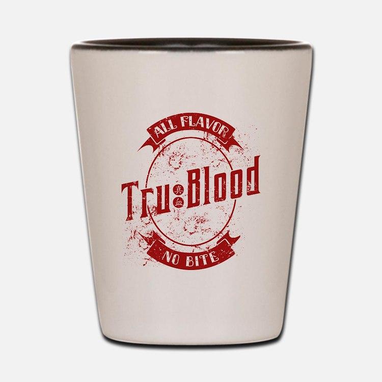 Vintage True Blood Bev Shot Glass