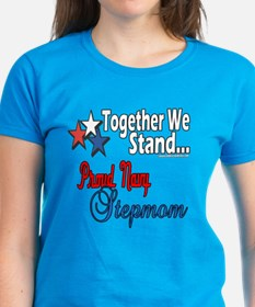 Proud Navy Stepmom Tee