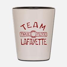 Team Lafayette True Blood Shot Glass
