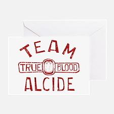 Team Alcide True Blood Greeting Cards