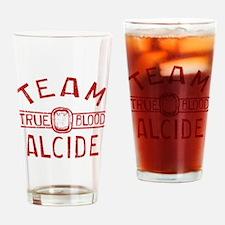 Team Alcide True Blood Drinking Glass