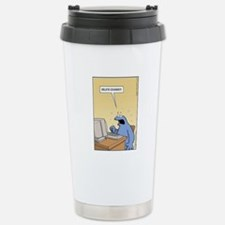 Cookie Monster - delete Cookies! Travel Mug