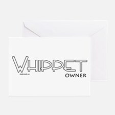 Whippet Owner Greeting Cards (Pk of 10)