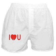 I Heart You Boxer Shorts