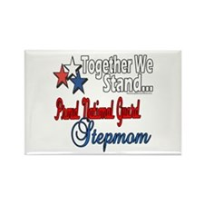 Proud National Guard Stepmom Rectangle Magnet (100