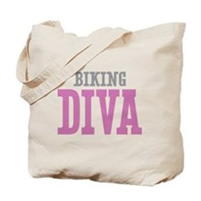 Biking DIVA Tote Bag