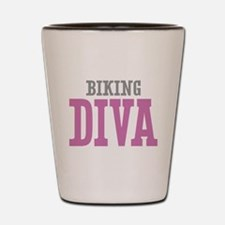 Biking DIVA Shot Glass