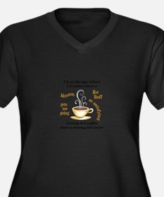 AT MY AGE Plus Size T-Shirt