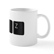 Ctrl Z keyboard keys Mug