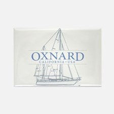 Oxnard CA - Rectangle Magnet