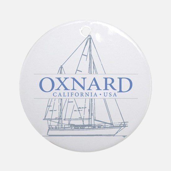 Oxnard CA - Ornament (Round)