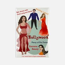 Bollywood Parody Rectangle Magnet