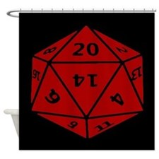 Unique Roll dice Shower Curtain