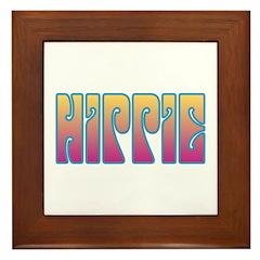 Hippie Framed Tile