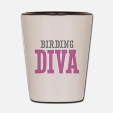 Birding DIVA Shot Glass