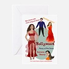 Bollywood Parody Greeting Cards (Pk of 10)