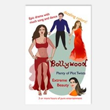 Bollywood Parody Postcards (Package of 8)