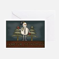 Snowmen Greeting Cards (Pk of 10)