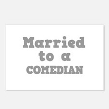 Married to a Comedian Postcards (Package of 8)