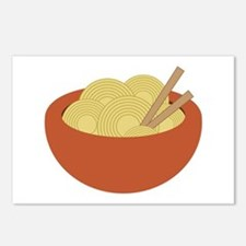 Bowl Of Noodles Postcards (Package of 8)