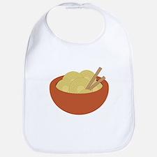 Bowl Of Noodles Bib