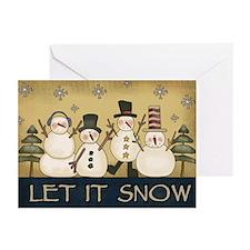 Snowmen Greeting Cards (Pk of 10)