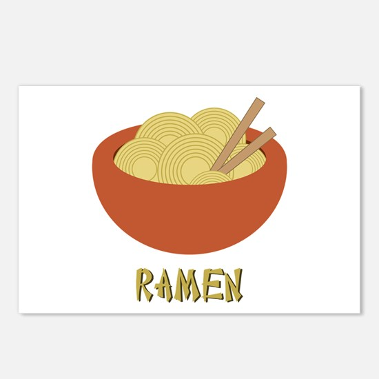 Ramen Postcards (Package of 8)