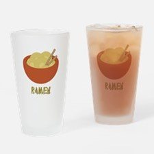Ramen Drinking Glass