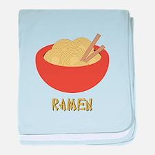Ramen baby blanket