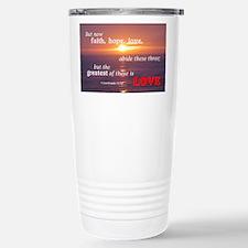 Faith, Hope, & Love Travel Mug