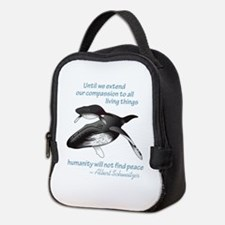 ALL LIVING CREATURES Neoprene Lunch Bag
