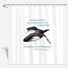 ALL LIVING CREATURES Shower Curtain