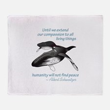 ALL LIVING CREATURES Throw Blanket