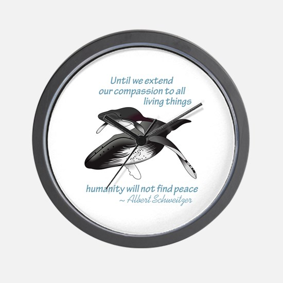 ALL LIVING CREATURES Wall Clock