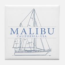 Malibu CA - Tile Coaster