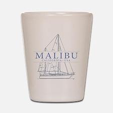 Malibu CA - Shot Glass